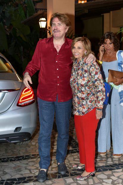 María Teresa Campos y Edmundo Arrocet en una imagen de archivo./Gtres