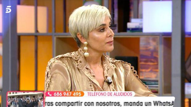 Ana María Aldón en 'Viva la Vida'./Telecinco