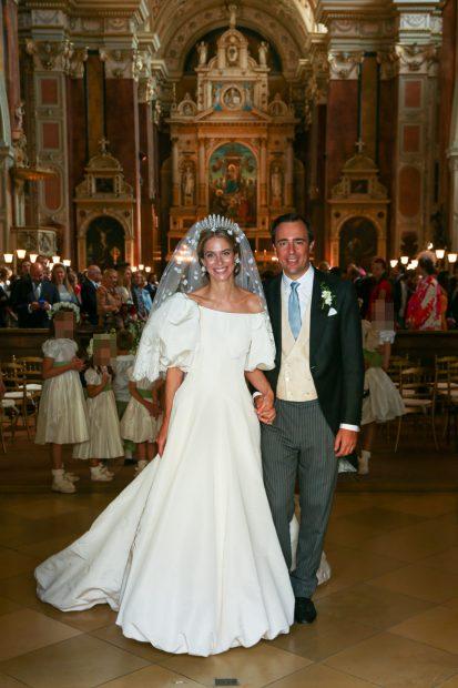 La princesa Maria Anunciata de Leichtenstein y Emanuele Musini ya son marido y mujer./Gtres