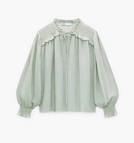 Camisas de nueva temporada de Zara