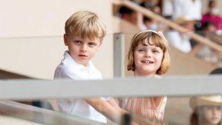 Los príncipes Jacques y Gabriella de Mónaco / Gtres