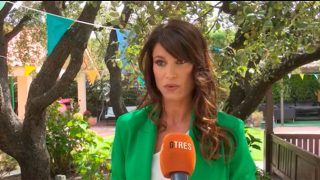 Sonia Ferrer, durante su última entrevista / Gtres