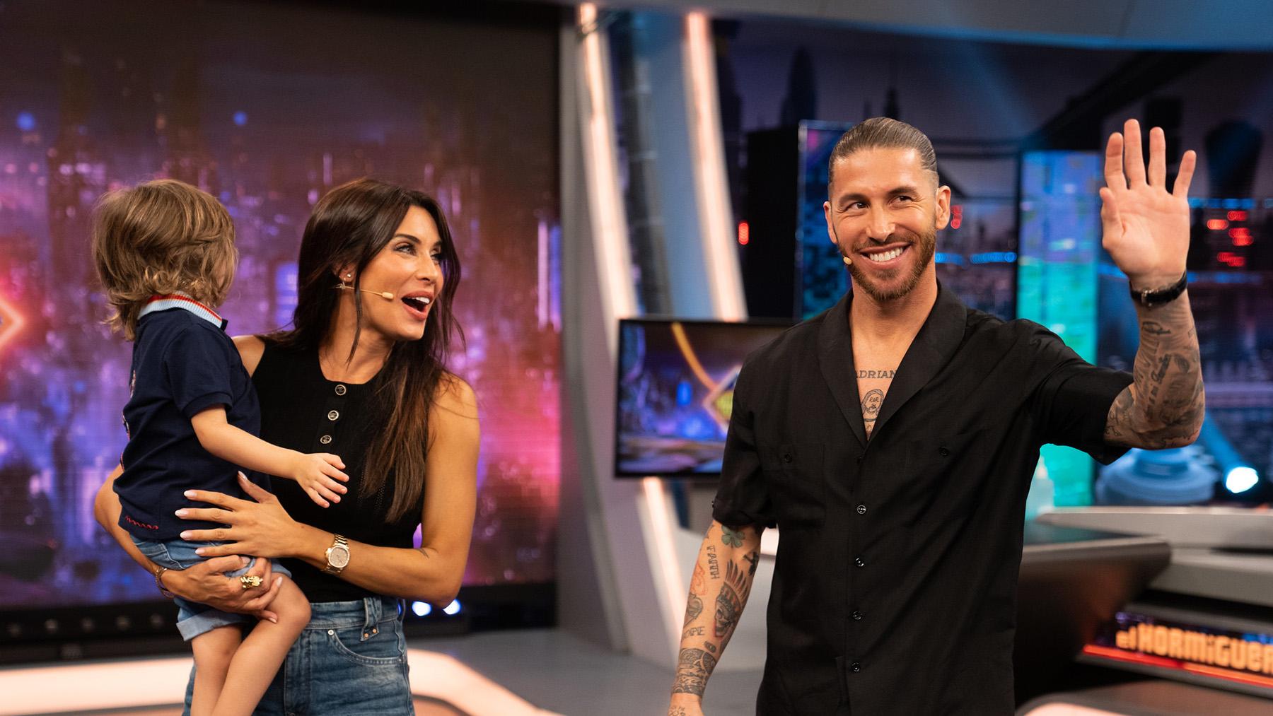 Pilar Rubio fue la primera invitada de la temporada de 'El Hormiguero' / Antena 3