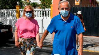 Gloria Mohedano y José Antonio han visitado el santuario de Nuestra Señora de Regla / Gtres