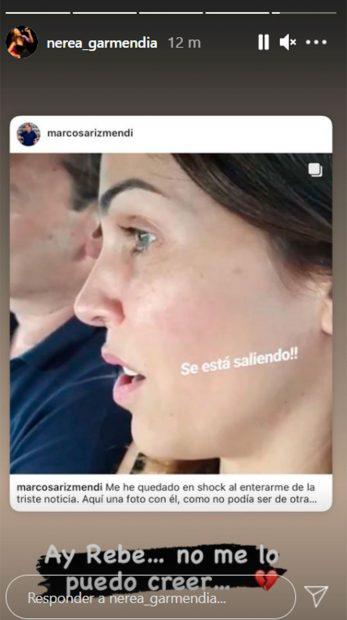 Despedida de Nerea Garmendia / Instagram