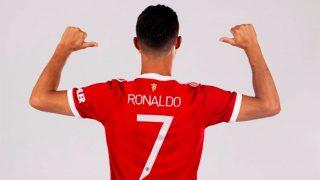 Así es la nueva camiseta de Cristiano Ronaldo / Gtres