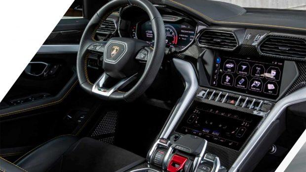 Así es el interior del Lamborghini Urus que Cristiano Ronaldo conduce para ir a los entrenamientos con el Manchester United / Lamborghini