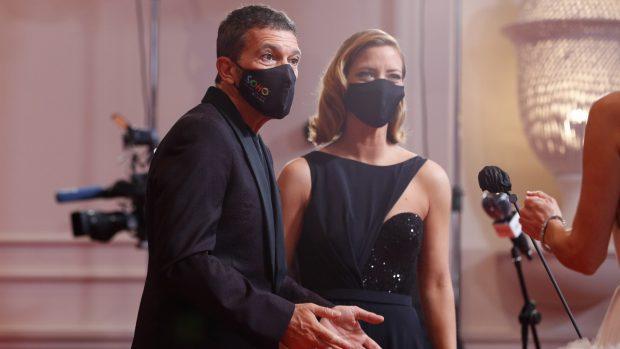 Antonio Banderas y Maria Casado en una imagen de archivo./Gtres