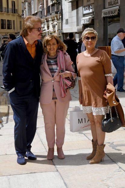 Edmundo, María Teresa y Terelu Campos en una imagen de archivo./Gtres
