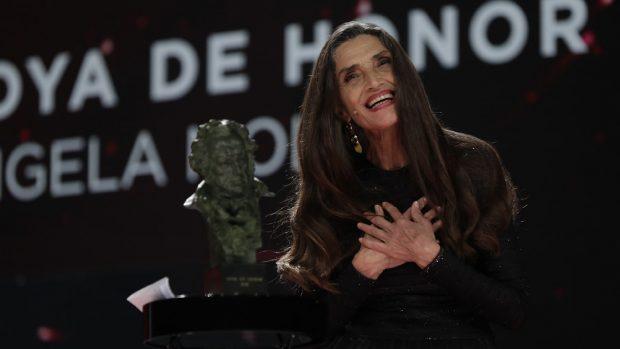 Ángela Molina en una imagen de archivo./Gtres