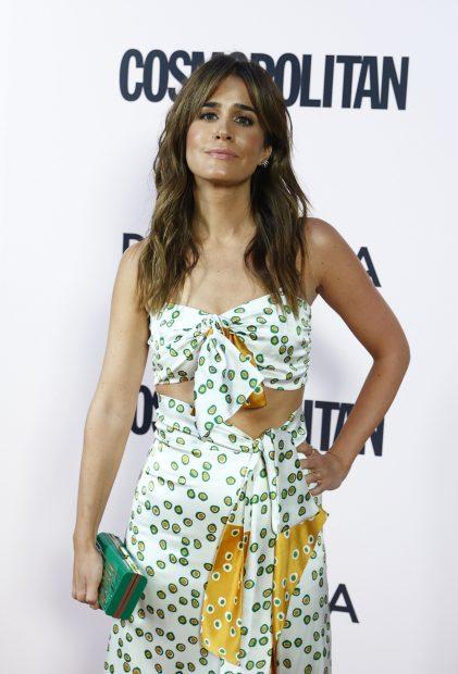 Isabel Jiménez ha acudido a los premios Cosmopolitan 2021 celebrados en Madrid./Gtres