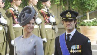 Los príncipes Carlos Felipe y Marta Luisa en una imagen de archivo / Gtres