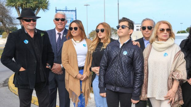 David Flores Carrasco, Gloria Camila Ortega, Rocío Flores Carrasco,Amador Mohedano y Gloria Mohedano / Gtres