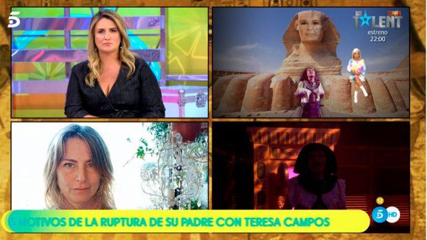 Discusión entre Carmen Borrego y Gabriela Arrocet / Telecinco