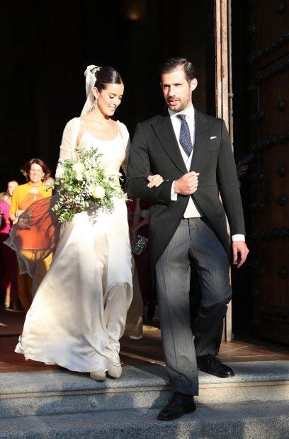 Micaella Rubini y Jaime Palazuelo ya son marido y mujer. Han elegido Toledo para poner el broche de oro a su relación./Gtres