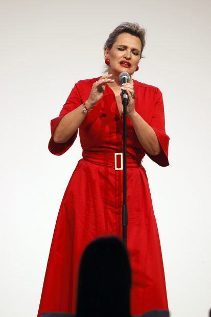 Ainhoa Arteta en una imagen de archivo./Gtres