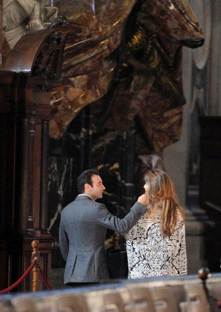 Paloma Cuevas y Enrique Ponce en una imagen de archivo./Gtres