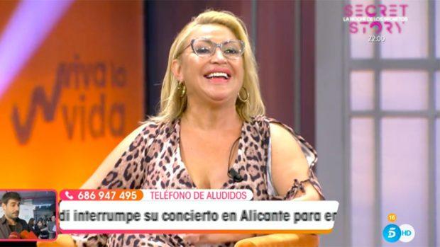 Raquel Mosquera ficha por 'Viva la Vida' semanas antes de que se estrene la segunda parte de la docu-serie de Rocío Carrasco./Telecinco
