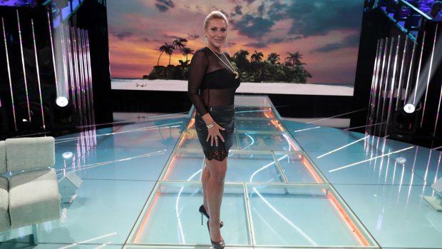 Raquel Mosquera durante una gala de 'Supervivientes'./Gtres
