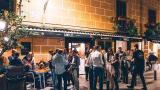 Amicis, el restaurante de la serie Valeria de Netflix