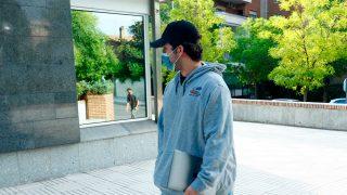 Froilán, muy molesto con la prensa en su regreso a la Universidad / Gtres