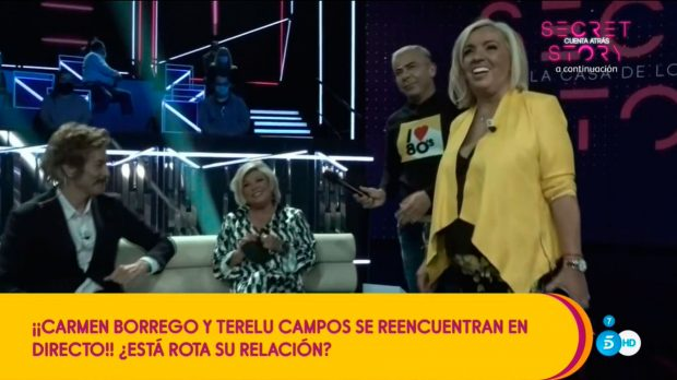 Carmen Borrego, Terelu Campos
