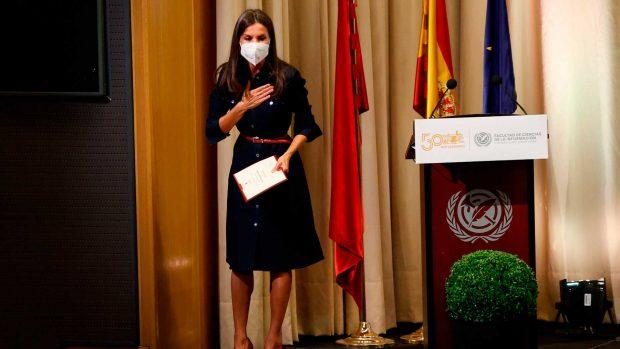 Letizia ha pronunciado un emotivo discurso en la facultad de Periodismo / Gtres
