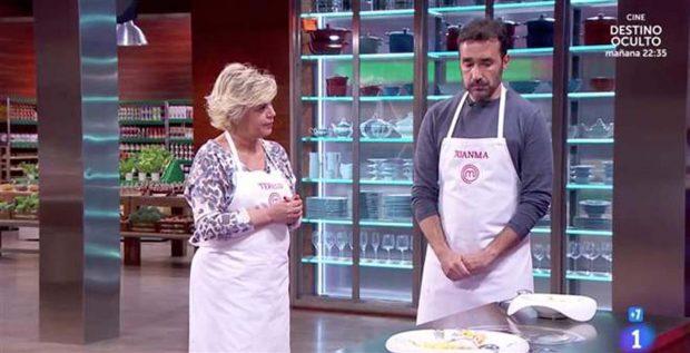 Terelu Campos y Juanma Castaño