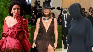 Rosalía, Jennifer Lopez y Kim Kardashian en la Gala Met 2021 / Gtres