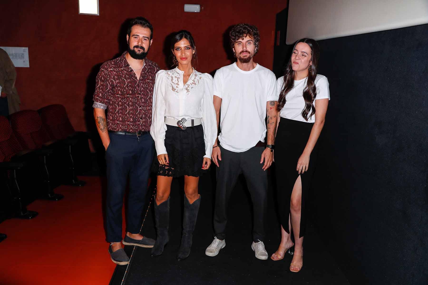 Sara Carbonero en la presentación del videoclip que protagoniza / GTRES