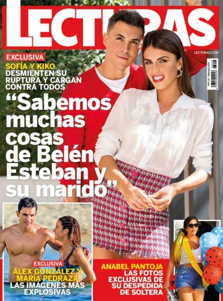 La revista Lecturas tiene en su portada de esta semana a Kiko Jiménez y Sofía Suescun / Gtres