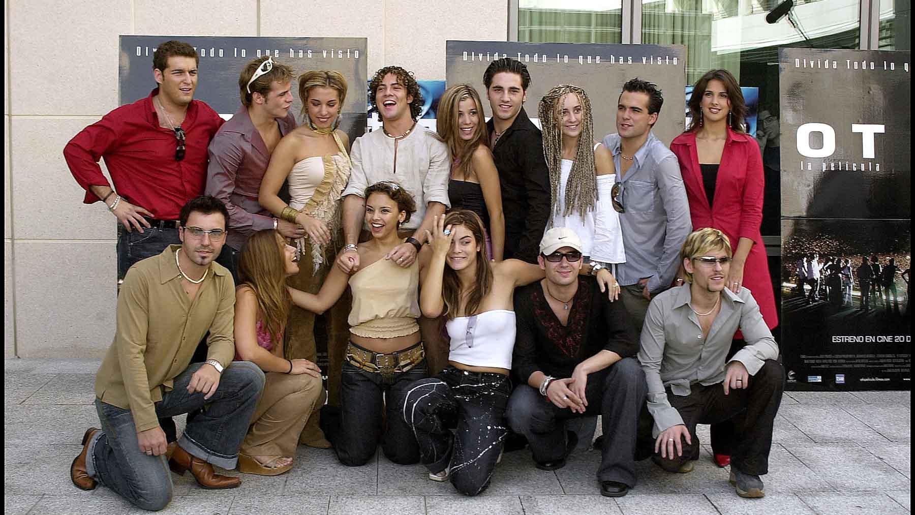 Los participantes de la primera edición de 'Operación Triunfo' en una imagen de archivo / GTRES