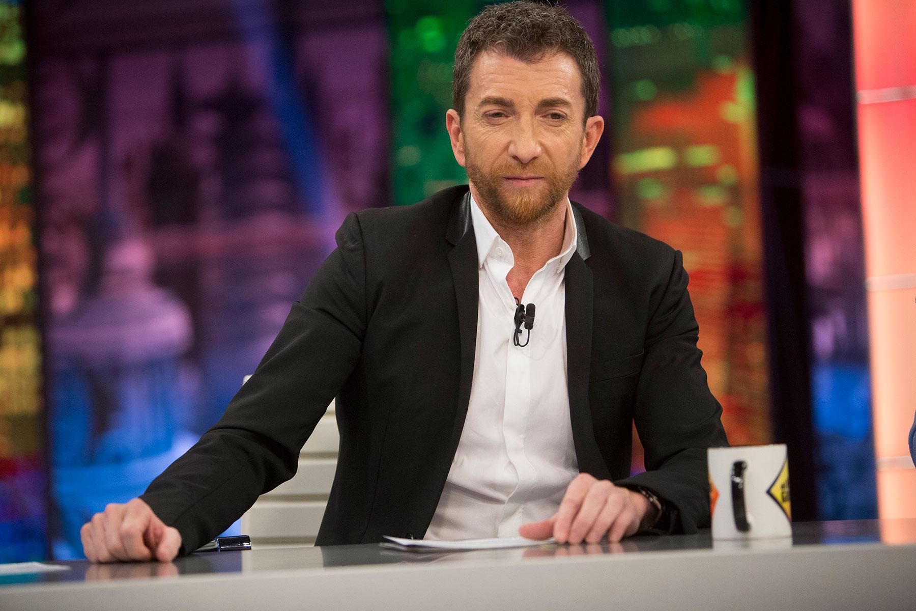 Pablo Motos (Pablo Motos) during the airing of