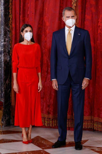 El Rey Felipe VI y la Reina Letizia juntos en un acto público./Gtres