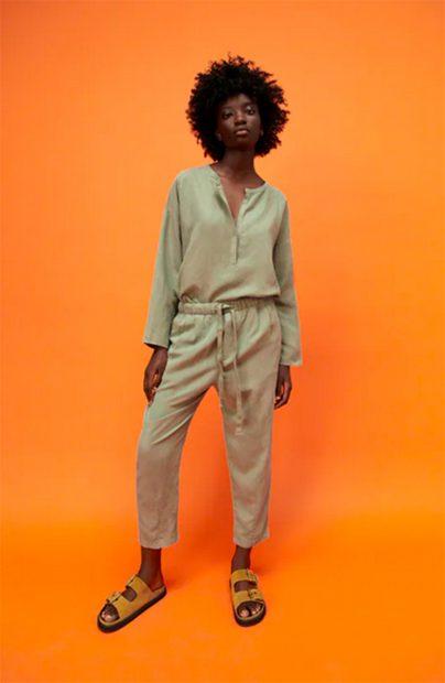 Pantalón 'The Weekend' de Zara diseño recto./Zara