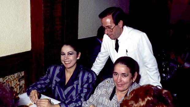 Isabel Pantoja y doña Ana en una imagen de archivo./Gtres