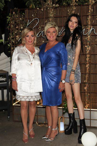 Carmen Borrego, Terelu Campos y Alejandra Rubio en una imagen de archivo./Gtres