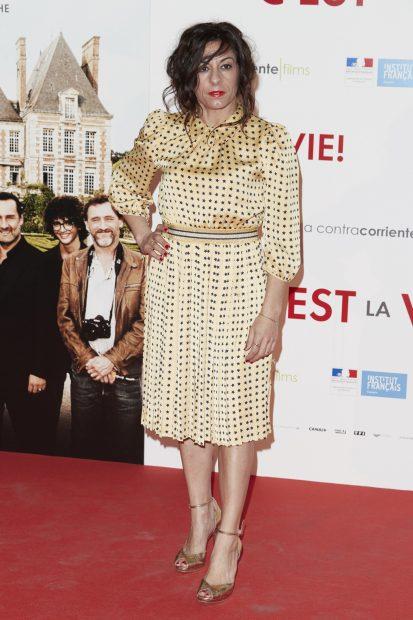 Cristina Medina, actriz de 'La que se avecina' ha lanzado un mensaje reivindicativo tras anunciar que padece cáncer de mama./Gtres