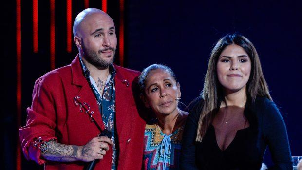 Kiko Rivera, Isabel e Isa Pantoja en una imagen de archivo./Gtres