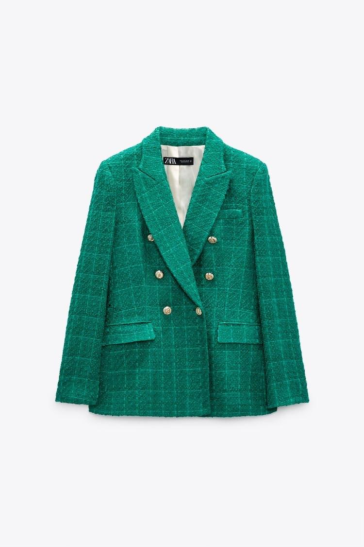 La blazer de Zara que lleva María Pombo