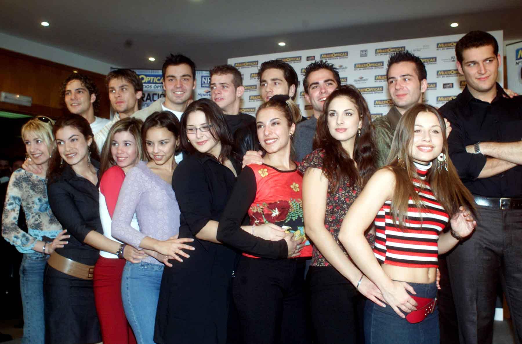 Todos los participantes de la primera edición de 'Operación Triunfo' se convirtieron en grandes amigos / GTRES