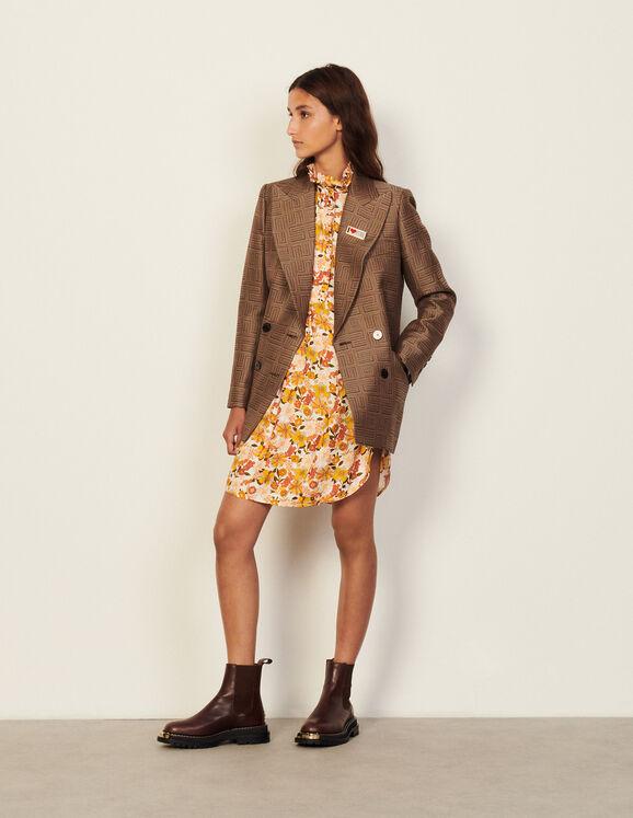María Pombo tiene el vestido ideal para entretiempo y sabemos de dónde es