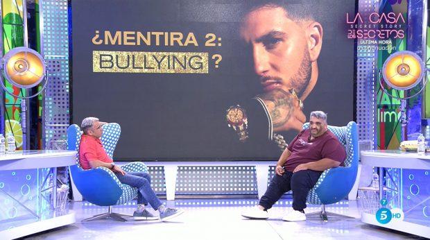 Javi 'El Gordo'. examigo de Omar Montes, en 'Sálvame' / Telecinco