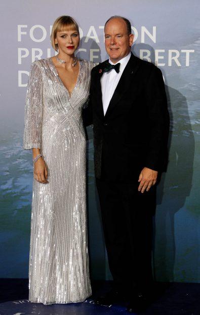 Charlene y Alberto de Mónaco en una imagen de archivo./Gtres