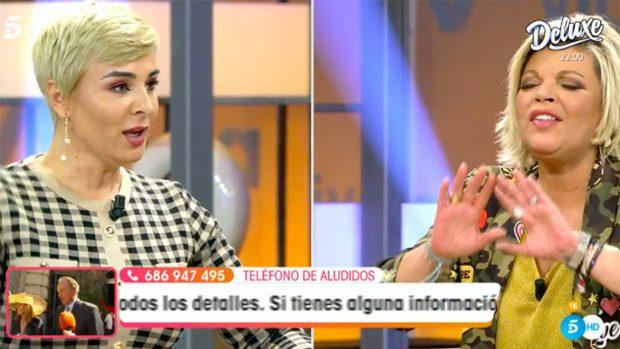 Ana María Aldón y Terelu Campos, enfrentadas en 'Viva la Vida'./Telecinco