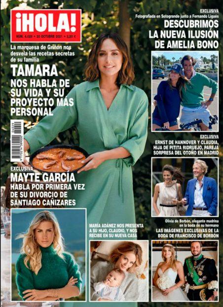 El nuevo amor de Amelia Bono, al descubierto en la revista 'Hola'